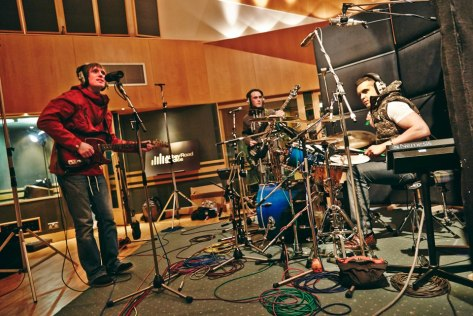 Rawcuss recording @ Abbey Road Studios - March 20th 2013